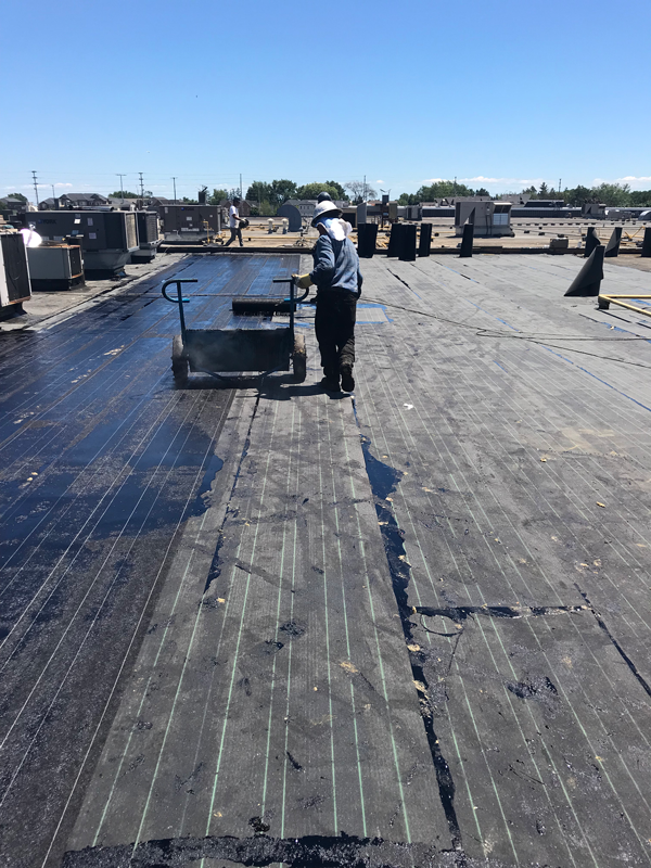 Hamati commercial roof restoration